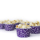 Polka Dot Party Serving Cups for popcorn
