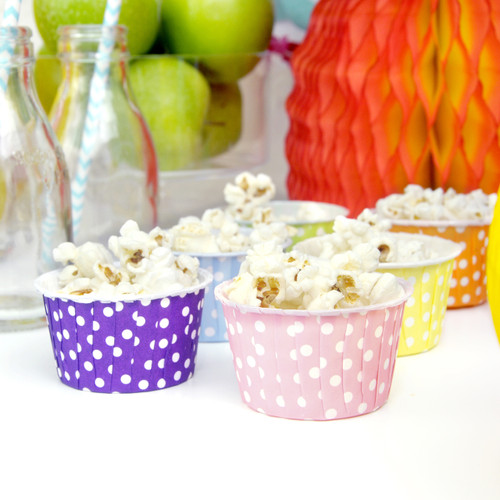 Polka Dot Party Serving Cups for ice cream, snacks, sweets and nibbles