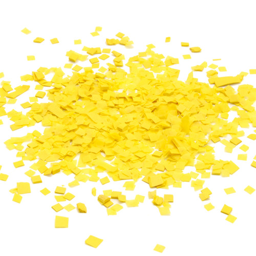 Yellow party confetti