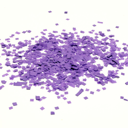 Purple tissue paper party confetti