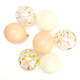 Blush mix confetti balloon collection