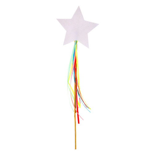 Sparkly Star Wand for Princess and Unicorn Children's Birthday Parties