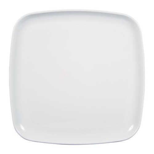 White Square Tableware Platter for Serving Cupcakes, Food and Other Snacks