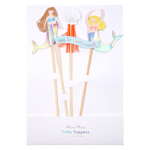 Mermaid Birthday Cake Topper