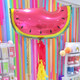 Watermelon Helium Party Balloon
