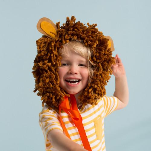 Lion Mane Dress Up Accessory Kit for Children's Fancy Dress or Halloween