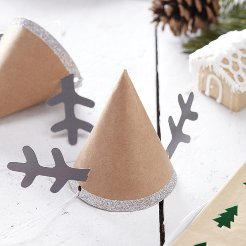 Reindeer Christmas Party Hats