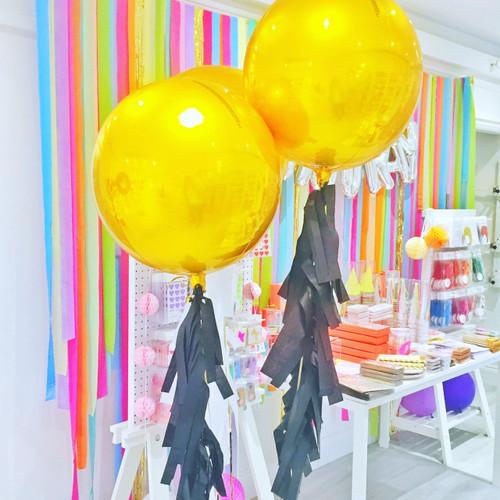Gold Orb Balloon