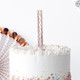 Cake candle fountains for birthday decor