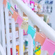 Mini pastel party bunting decoration for tea parties, birthdays, baby showers and hen parties