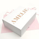 Luxury personalised name gift box to give a present to a friend, loved one, mum, dad or family member
