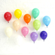 Rainbow mini party balloon decorations for birthdays, baby showers and hen parties