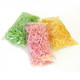 Crinkle cut gift wrap paper shredding for gifts, presents, craft projects and wedding favours