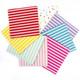 Stylish Stripe Paper Party Napkins