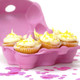Pink Egg Cartons for cupcake displays, wedding dessert tables, fun easter egg hunt gift boxes and craft projects