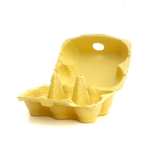 Yellow Egg Cartons for cupcake displays, wedding dessert tables, fun easter egg hunt gift boxes and craft projects