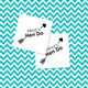 Personalised Hen Do Arrow Temporary Tattoos for Hen Dos