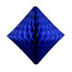 Dark blue tissue paper diamond decoration for kids birthday parties, weddings, dessert table displays and hen dos.