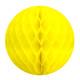 Yellow Tissue Paper Honeycomb Ball Pom Pom Decoration