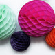 Tissue Paper Honeycomb Ball Pom Pom Decoration