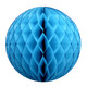 Turquoise Tissue Paper Honeycomb Ball Pom Pom Decoration