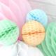 Tissue Paper Honeycomb Ball Pom Pom Decoration
