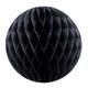 Black Tissue Paper Honeycomb Ball Pom Pom Decoration