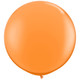 Big orange balloon party decoration for birthdays, weddings, photo booth backdrops, anniversaries, baby showers, hen parties.