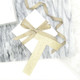 Personalised Gold Letter Gift Tag for Finishing Touches on Christmas and birthday gifts and presents