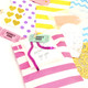 Rainbow Gift Wrap Accessories Craft Kit