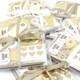 Kraft Gift Wrap Ribbon and Stickers Kit