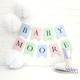 Personalised Baby Shower Bunting for Baby Showers and Christenings in Custom Colours