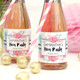 Personalised Floral Hen Party Wine Bottle Favour Labels