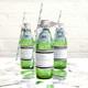 Personalised Monochrome Hen Party Bottle Favour Labels