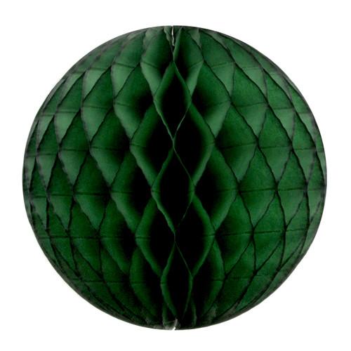 Dark Green Tissue Paper Honeycomb Ball Pom Pom Decoration