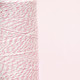 Cotton Candy Pink Bakers Twine made of cotton for Gift Wrap, Favours and Craft Projects