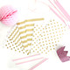 Gold Patterned Paper Party Bags for Wedding Favours and Goody Bags