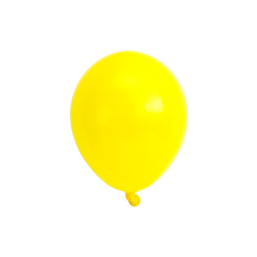 Yellow mini balloons for childrens birthday parties, balloon arches, dessert table displays, hen dos and baby showers