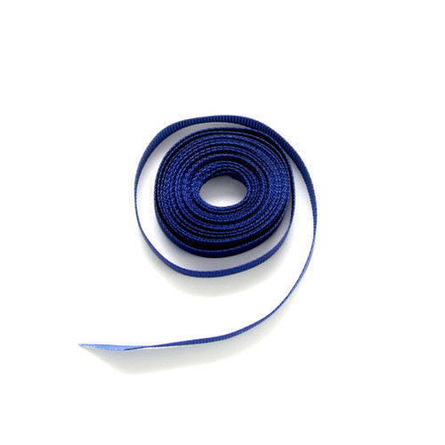 Navy luxury grosgrain ribbon for wedding favours, craft projects and gift wrap