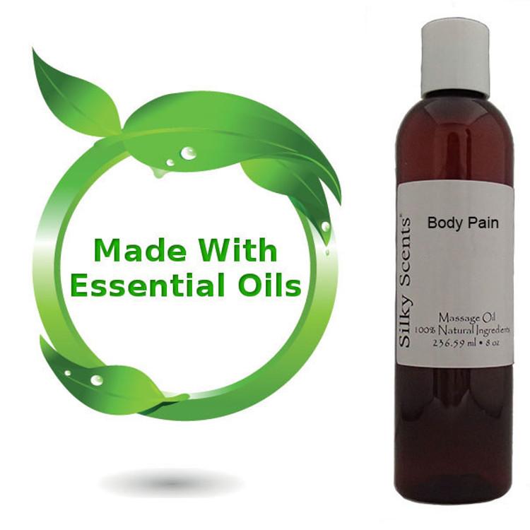 8 oz Body Pain Massage Oil