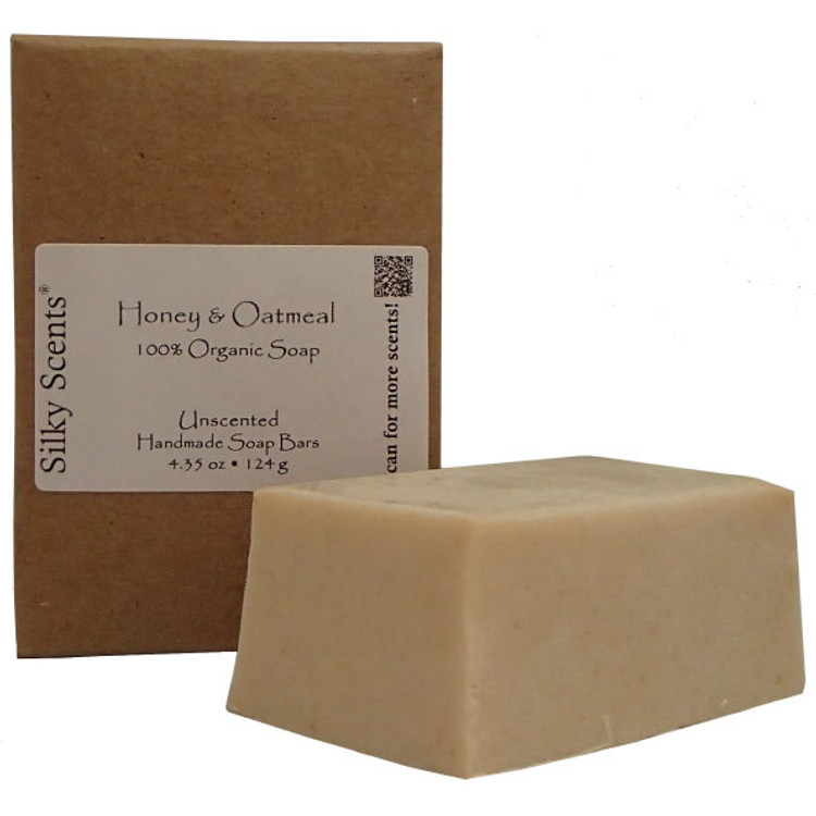 Honey & Oatmeal Soap Bar (Unscented)