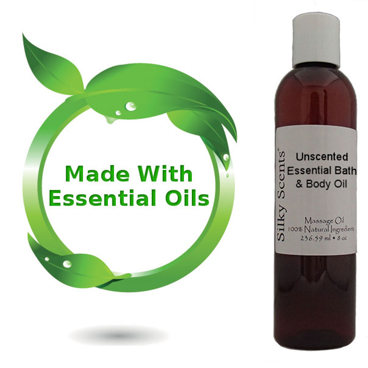 Unscented Essential Bath & Body Oil
