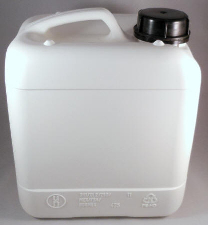 4 Liter Jerry Can Baritainer (Fluorinated HDPE equivalent) UN X Rated. Caps Included