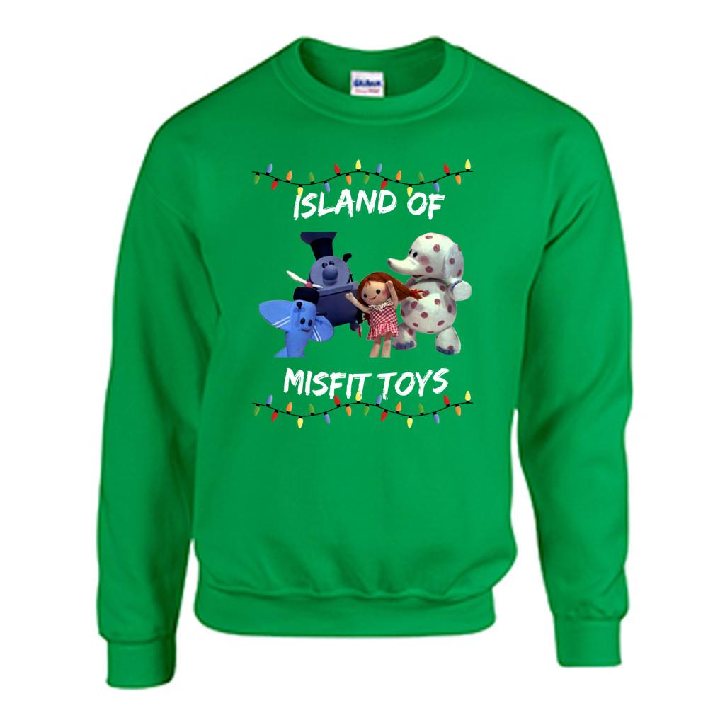 tacky christmas sweatshirt misfit toys - Misfits Christmas Sweater
