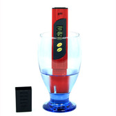 PÜRATest pH Tester - Red | 2shopper