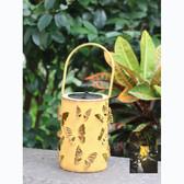 Solar Powered Butterfly Lantern LED Light