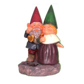 Gnomes Holding Hearts Solar Light
