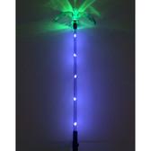 Solar Color Change & Mini White LED Hummingbird Wings Down Light (Set of 2)