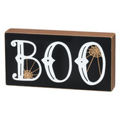 BOO Block Sign