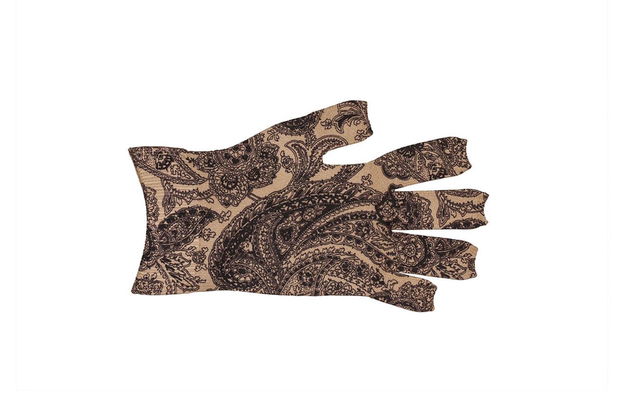 Black Paisley Glove